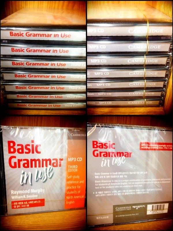 Basic Grammar In Use MP3 CD
