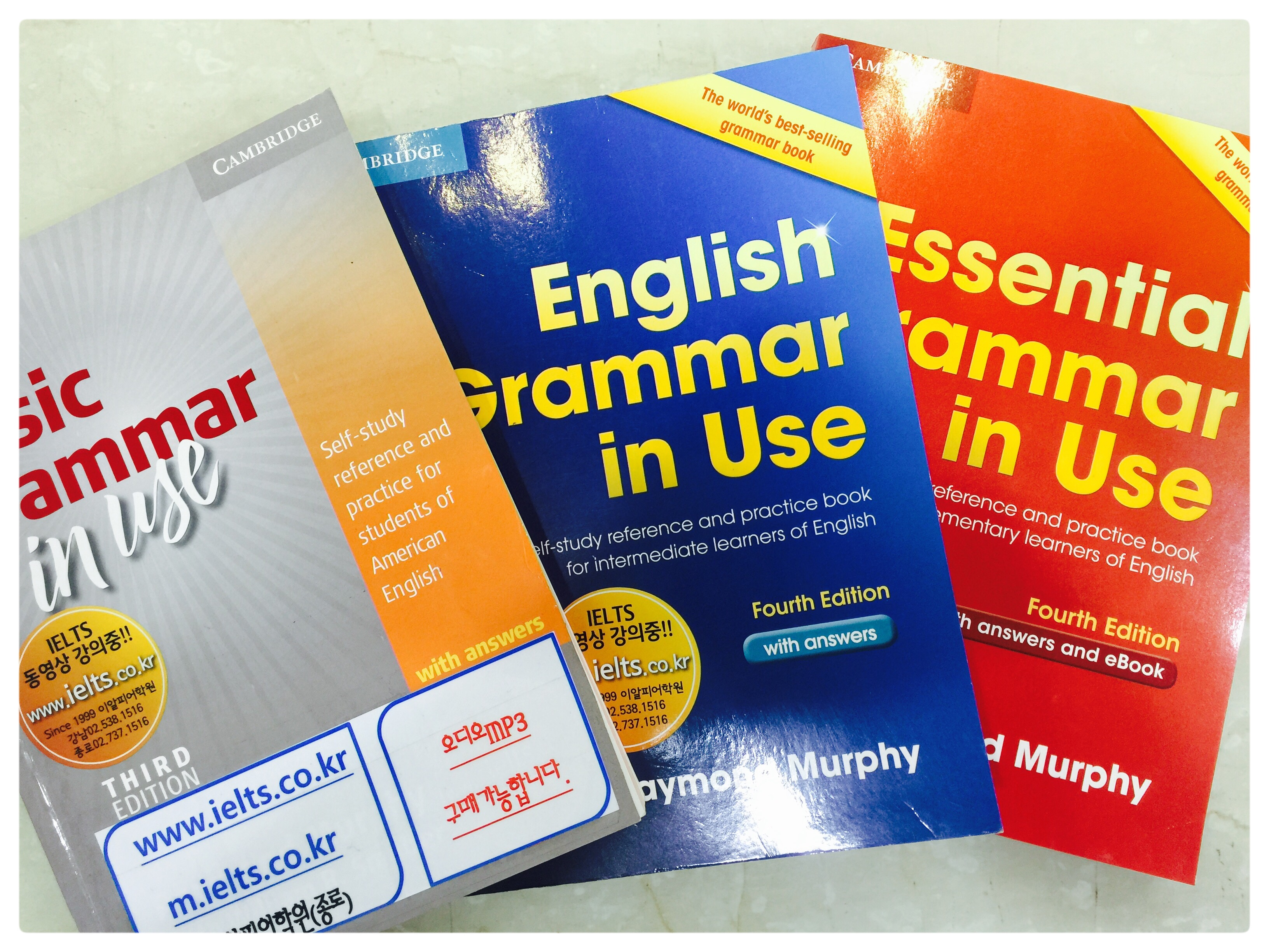 Basic, English, Essential grammar in Use